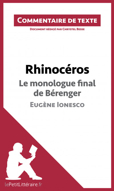 Le monologue final de Bérenger